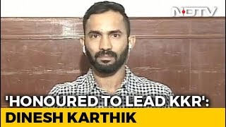 Honoured To Take Over As KKR Captain From Gautam Gambhir: Dinesh Karthik - NDTV