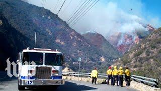 Battalion chief explains the behavior of wildfires - WASHINGTONPOST