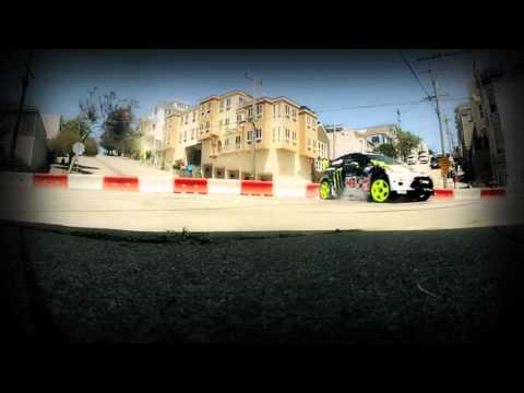 Ken block Ultimate Urban Playground San francisco of Hardstyle 2012 HD