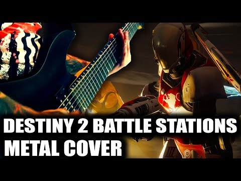 Destiny 2 Battle Stations Metal Cover