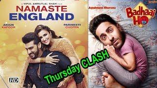 Dussehra DHAMAKA, 'Badhai Ho' Thursday CLASH 'Namaste England' - IANSLIVE