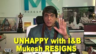 UNHAPPY with I&B Ministry, Mukesh Khanna RESIGNS from children film society - IANSLIVE