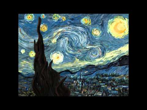 5 min La Nuit Étoilée (The Starry Night) Animation | Vincent van Gogh HD