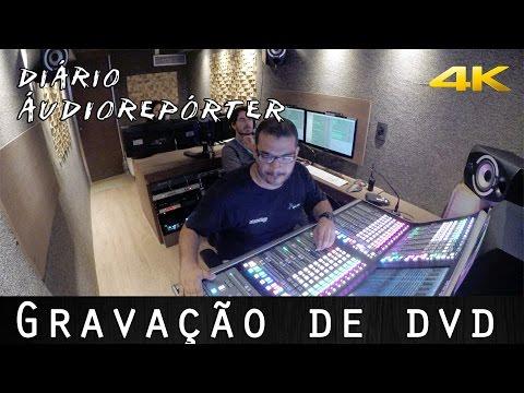 Gravação de DVD | Diário ÁudioRepórter #1