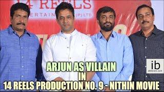Arjun as villain in 14 reels production no. 9 - Nithin movie - idlebrain.com - IDLEBRAINLIVE