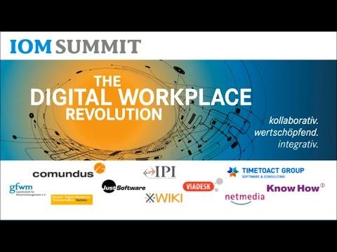 #IOMS14 Keynote: Herausforderungen von Unternehmen beim Digital Workplace | Jane McConnell
