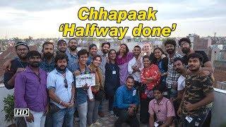 Deepika Padukone's Chhapaak 'Halfway done' - IANSINDIA