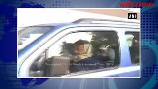 video : नई दिल्ली : मुख्यमंत्री अरविन्द केजरीवाल की कार चोरी