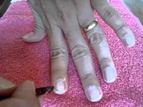 tutorial como fazer as unhas sem tirar cutículas