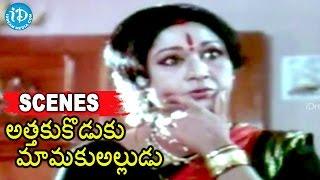 Attaku Koduku Mamaku Alludu Movie Scenes - Vinod Kumar,  Divyavani, Vanishri Best Scene - IDREAMMOVIES