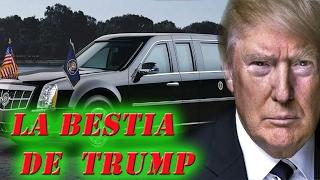 """""""La bestia"""": el auto el elegido para Trump"""