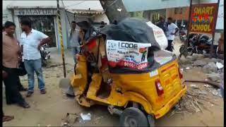 కూకట్ పల్లిలో  ఆర్టీసీ బీభత్సము | Hyderabad | CVR News - CVRNEWSOFFICIAL