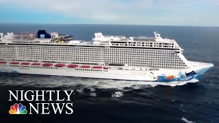 Cruise Ship Passenger Survives 10 Hours At Sea After Falling Overboard | NBC Nightly News - NBCNEWS