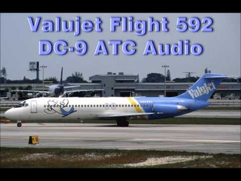 Image result for ValuJet DC-9 caught fire simulation