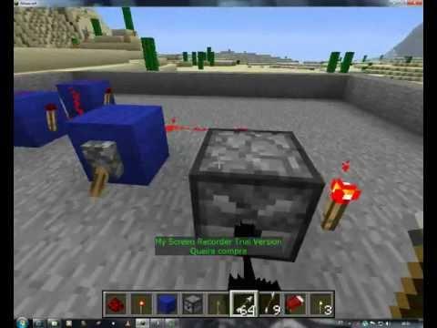 Minecraft : Como fazer Atirador de Flechas Automatico