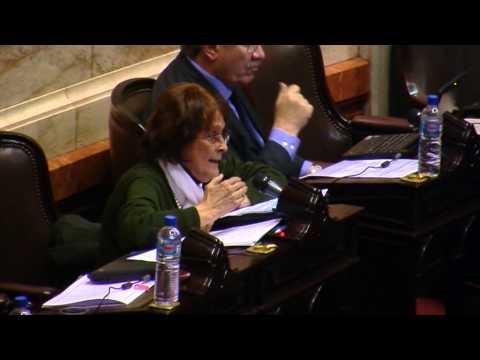 Alcira Argumedo en la Sesión sobre impuesto a las ganancias 4-9-13