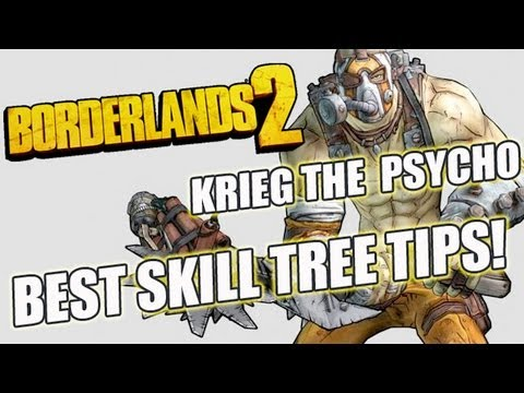Best Skills Tree For Krieg The Psycho: Mania Class Set Up Tutorial: Borderlands 2