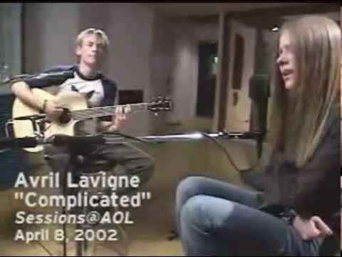 Avril Lavigne - AOL Sessions 08/04/2002 - Full Live -cxqki0GxqZw
