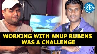 SS Thaman Challenge Working with Anup Rubens || Talking Movies with iDream - IDREAMMOVIES