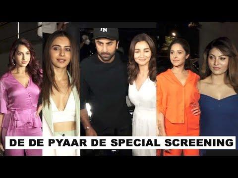 De De Pyaar De Special Screening at Rakul Preet Singh, Ranbir & Alia Bhatt | PVR Juhu