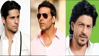 Bollywood News in 1 minute - 28/08/2014 - Shahrukh Khan, Siddharth Malhotra, Akshay Kumar