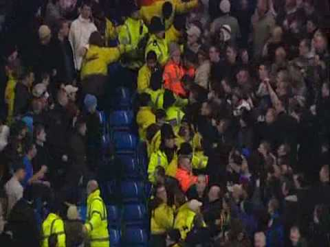 Man City vs Everton fan trouble