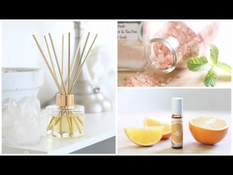DIY Aromatherapy Ideas   Home + Body