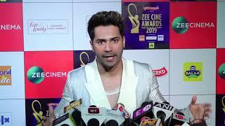 "Varun Dhawan: ""KALANK Mere Zindagi ki Sabse Badi Film Hai"" | Zee Cine Awards 2019 - HUNGAMA"