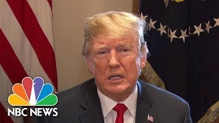 President Trump Says He'll Sign Order Temporarily Stopping Family Separation At Border | NBC News - NBCNEWS