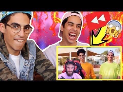سعودي ريبورترز في يوتيوب ريوايند ٢٠١٧ | ردة فعل بيودي باي!!!