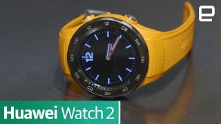 Huawei Watch 2 | First Look | MWC 2017 - ENGADGET
