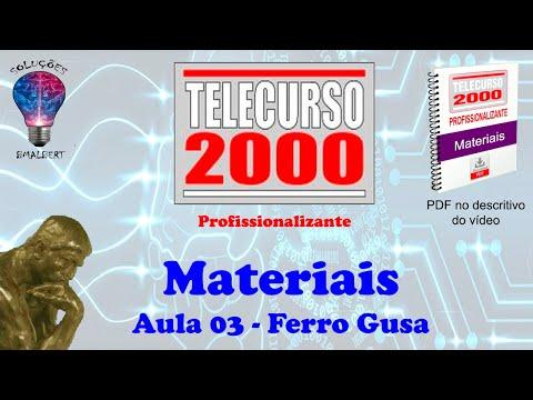 Telecurso 2000 - Materiais - 03 Ferro Gusa.avi