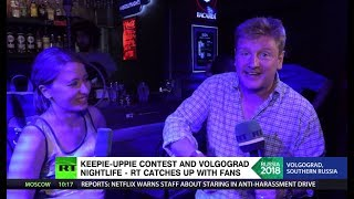Keepie uppie contest & Novichok cocktails: RT reporter hangs out with with England & Tunisia fans - RUSSIATODAY