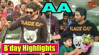 Allu Arjun Birthday Celebrations 2019 | Happy Birthday Stylish Star | TeluguOne - TELUGUONE