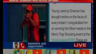 Asian Games 2018: Lakshya Sheoran bags silver in shooting; PM Modi tweets to congratulate him - NEWSXLIVE