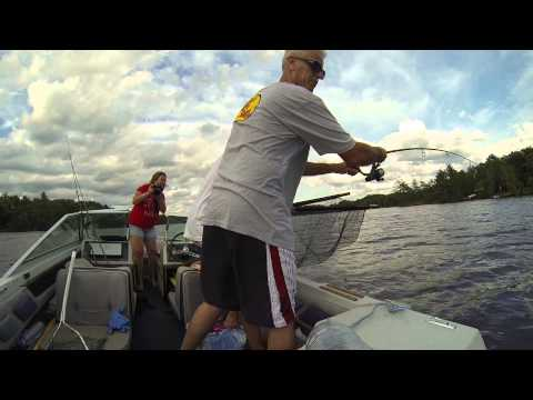 Fishing Muskie Kawartha Lakes