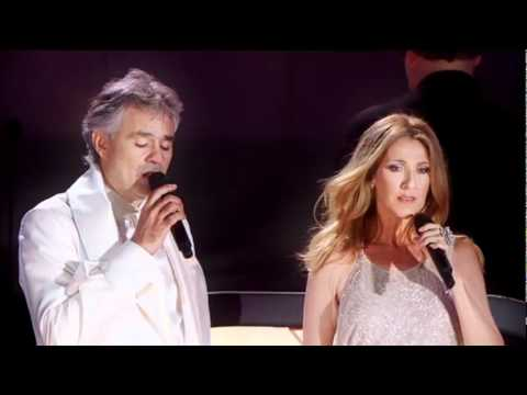 Andrea Bocelli & Celine Dion  One Night in Central Park (15 Sept 2011) - The Prayer