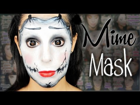 Mask mime makeup | Silvia Quiros