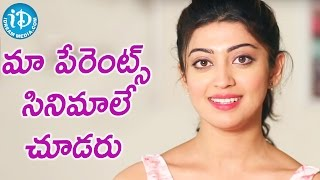 Both Of My Parents Are Doctors - Pranitha || Talking Movies With iDream - IDREAMMOVIES