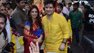 Ganpati visarjan with Sonali Bendre - BOLLYWOODCOUNTRY