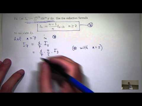 Lec4: Integrals of trig functions and reduction formulae. Chris Tisdell UNSW Sydney