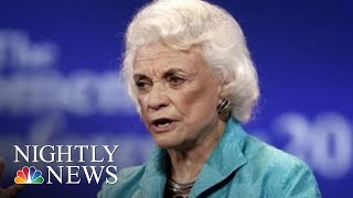 Sandra Day O'Connor Announces Probable Alzheimer's Diagnosis | NBC Nightly News - NBCNEWS