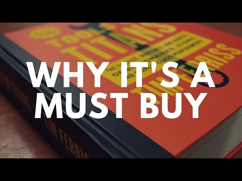 Tools Of Titans Review - WHY YOU NEED TO BUY THIS BOOK RIGHT NOW!