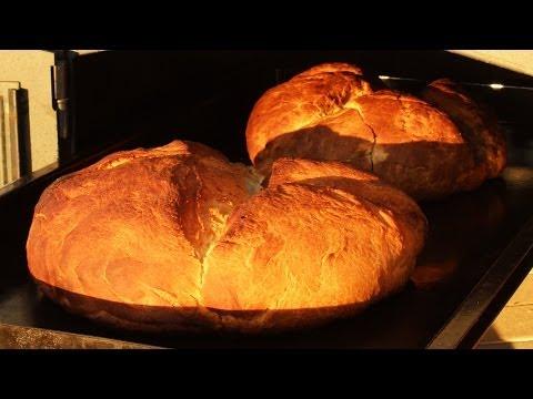 Como hacer Pan Casero al Horno a Leña! - Locos X el Asado