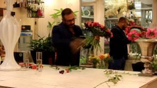 Уроки флористики Славы Роска. Мастер-класс