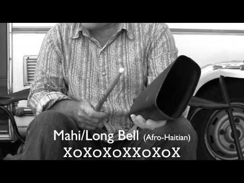 6/8, 12/8 (ternary) African, Afro Cuban cowbell patterns, 19 bell rhythms