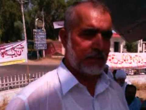 Tehreek e Haqooq e Mianwali-Leader-Khursheed Anwar Khan Niazi Hunger Strike Speech 3 October, 2011