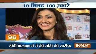 News 100  18/4/2014, 8:30 AM - INDIATV