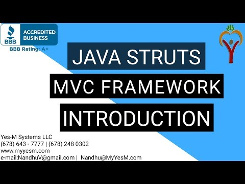 Java Struts MVC Framework Introduction