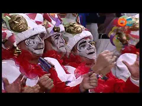Sesión de Preliminares, la agrupación La fiesta actúa hoy en la modalidad de Coros.